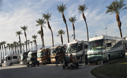 Picture of Family Motor Coach Association Western Area Rally in Indio